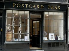 LONDOND | Postcard Teas (pictured) in the Marylebone neighborhood has a small but well-curated collection of teas from around the world.