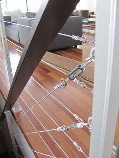 Garde Corps Aluminium Acier Cables Inox Balustrade