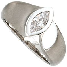 Dreambase Damen-Ring teilmattiert Silber 1 Zirkonia 56 (1... https://www.amazon.de/dp/B00EYGMIKQ/?m=A37R2BYHN7XPNV