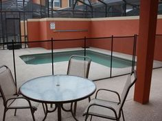 A 4 bedroom / 3 bath townhome with splash pool located 6 miles from Disney World