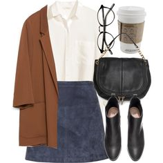 Untitled #4512 by laurenmboot on Polyvore featuring H&M, Zara, Burberry and MANGO