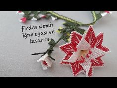 Crochet Earrings, Youtube, Christmas Ornaments, Holiday Decor, Lace, Tricot, Chinese Flowers, Crocheting, Hipster Stuff
