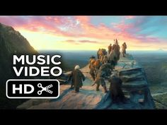 "The Hobbit: The Desolation of Smaug - Ed Sheeran Music Video - ""I See Fire"" (2013) HD"