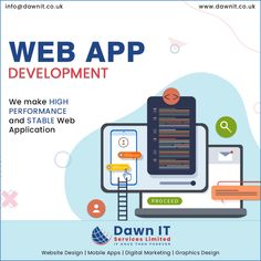 #DawnITServicesLimited is a custom #webapplicationdevelopmentcompany in #UK. we develop #webapps with #mobileapplications for #iOS and #Android. #WebAppDevelopmentCompanyUK #WebAppDevelopmentCompanyLondon #Unitedkingdom #London Mobile App Development Companies, Mobile Application Development, Web Development Company, Website Design Company, Custom Website, Mobile App Design, Seo Services, Digital Marketing, Web Design