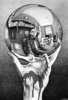 Mike Meyers, Escher inspired