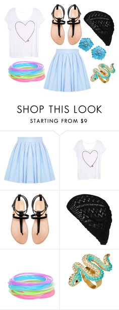 """""""Sin título #71"""" by daniela-yepezc ❤ liked on Polyvore featuring Alice + Olivia, Victoria's Secret, Zara, Wet Seal, Kenneth Jay Lane and Buccellati"""