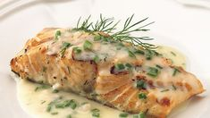 Grill Salmon With Lemon Capers Sauce Recipe