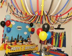 Amanda G's Birthday / Super Heros - Photo Gallery at Catch My Party Spider Man Party, Superman Party, Superhero Theme Party, 6th Birthday Parties, 7th Birthday, Birthday Ideas, Avengers Birthday, First Birthdays, Elementary Counseling