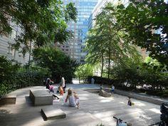 mamooo.pl   Z dzieckiem wśród natury: Z cyklu: Naturalne place zabaw - Park Teardrop w Nowym Jorku