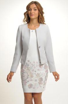 Sako v šedé barvě Clothes, Dresses, Fashion, Outfits, Vestidos, Moda, Clothing, Fashion Styles, Clothing Apparel
