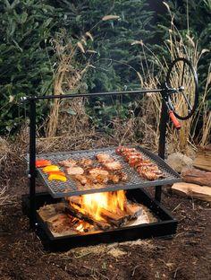 Engelbrecht Grills - Original Braten Campfire Grill