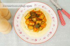 Cream Polenta With Sauteed Zucchini Recipe