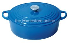 Le Creuset Oval Casserole 27cm (Marseille Blue) - The Homestore NZ