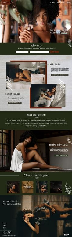 We are a luxury branding and web design studio based in Miami, Florida serving creatives all around the world. We strive to help build your brand and build your website. We specialize in Showit and Shopify Web Design Web Design Trends, Site Web Design, Modern Web Design, Creative Web Design, Website Design Inspiration, Fashion Website Design, Beautiful Website Design, Web Design Moderne, Web Design Studio