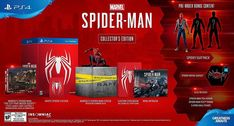 Spider-Man Collectors Edition Game for PS4  Experience a brand-new and authentic Spider-Man adventure with a fully customized Amazing Red PS4 Pro console.  Best spider man ps4 pro bundle, Save price pider man ps4 bundle, Spider man ps4 pro best buy Spider man ps4 pro gamestop, Spider man ps4 pro walmart Best seller #spidermanps4prorestock #ps4prospidermanedition #Spidermanps4proconsole