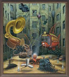 Untitled. Surrealism in Dreamlike Oil Paintings. By Jacek Yerka.
