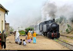 RailPictures.Net Photo: 442 54 Eritrean Railways Steam 0-4-4-0T Mallet at Arbaroba, Eritrea by Daniel SIMON