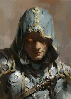Dehong Yu Works: Diablo 3 Heroes #face