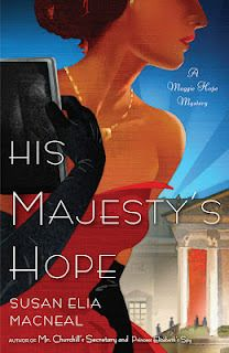 His Majesty's Hope:  I have enjoyed all the books in the Maggie Hope series.  This one goes in deeply enough to  the events in Nazi Germany to place a photo in your mind.  Stories about the Holocaust really bother me so I had to kind of skim some pages, but it's a good read.  It helps to read the preceding ones first so you know what's going on.