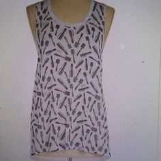 I just discovered this while shopping on Poshmark: LAST CHAN,E Betsey Johnson high low tank NWT. Check it out! Price: $18 Size: L