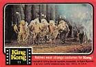 1976 Topps King Kong #11 Natives wear strange costumes for Kong! | The Trading Card Database