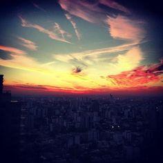 Hermoso ver el amanecer con tus amiigos!!