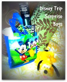 Planning a Disney Trip Surprise bag for kids
