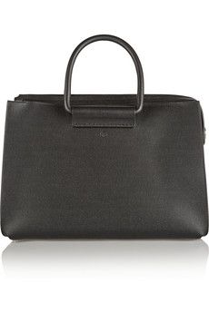 The Row Classic 5 pebbled-leather tote | NET-A-PORTER