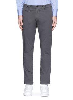 BARENA VENEZIA . #barenavenezia #cloth #stino棉质斜纹布休闲西服长裤