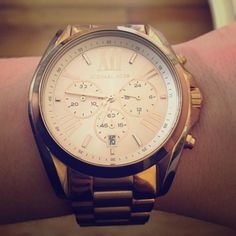 9c1aa9638462 Michael Kors Bradshaw Chronograph Rose Gold Watch Authentic Michael Kors  MK5503 watch in beautiful rose-