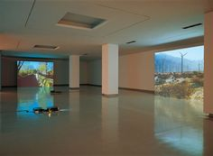 Mark Lewis: Installation view of Some Near Distance (2003)