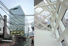 ESPAÑOL I think it will be interesting to compare the work of two foreign offices in Tokyo: Herzog & De Meuron and Renzo Piano , both P. Renzo Piano, Jacques Herzog, Moleskine, Prada, Architecture, Tokyo, Louvre, Bauhaus, Building