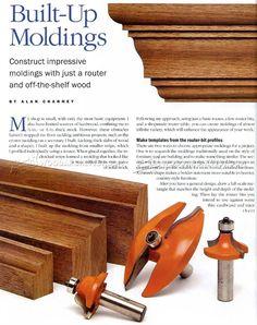 Making Built Up Molding - Molding Construction