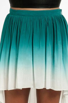 #Tobi                     #Skirt                    #Ombre #Skirt             Ombre Low Skirt $39                                 http://www.seapai.com/product.aspx?PID=1215075