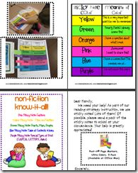 guided reading binder for kiddos resource - preview of file for sale on TPT