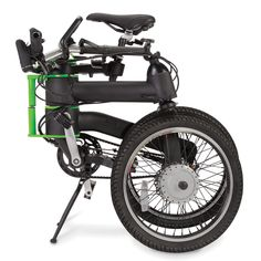 The Folding Electric Bicycle - Hammacher Schlemmer. Or better yet! This one! Since I can ACTUALLY put this in my bag!