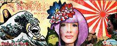 Art journal page, 2016 Japan Love- Ella de la Fuenteww