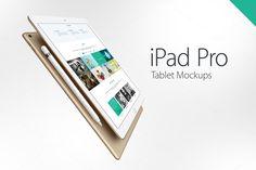 iPad Pro Mockups by YD-LABS on Creative Market