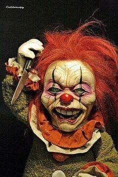 Creepy Evil Clown