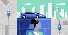 The Inside Story of Uber's Radical Rebranding | New mid-century modern illustrations are part of Uber's new brand. | Credit: Uber | From Wired.com