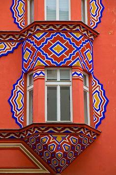 Window detail, Ljubljana, Slovenia