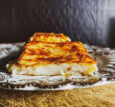 Ισπανικό γλυκό χωρίς ζάχαρη   Leche frita αλά ισπανικά Sweet Recipes, Healthy Recipes, Lasagna, Sandwiches, Cheese, Cake, Ethnic Recipes, Food, Milk