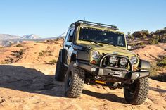 "American Expedition Vehicles (AEV) Jeep Jk with a 6.4l HEMI and 37"" tires."