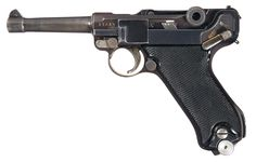 Krieghoff Luftwaffe Contract 1940 Dated Luger Pistol
