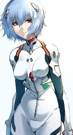 Neon Genesis Evangelion, Character Art, Character Design, Rei Ayanami, Mecha Anime, Animes Wallpapers, God Of War, Anime Comics, Manga Girl