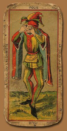 ✯ Antique Tarot Card ✯