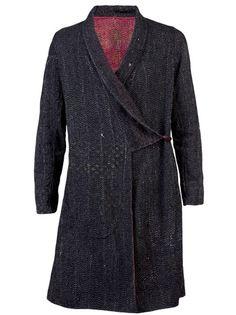 ccb8dedd5 ATELIER OM - Kantha reversible overcoat 1. 870 Kimono Jacket, Men's  Accessories, Om