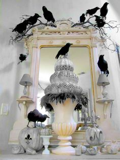 Elegant crows.