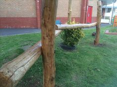 Den building frame for a primary school in Cardiff Den Building, Copper Beech, Natural Play, Forest School, Cardiff, Primary School, School Projects, Playground, Frame