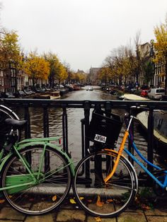 Beautiful autumn day in Amsterdam